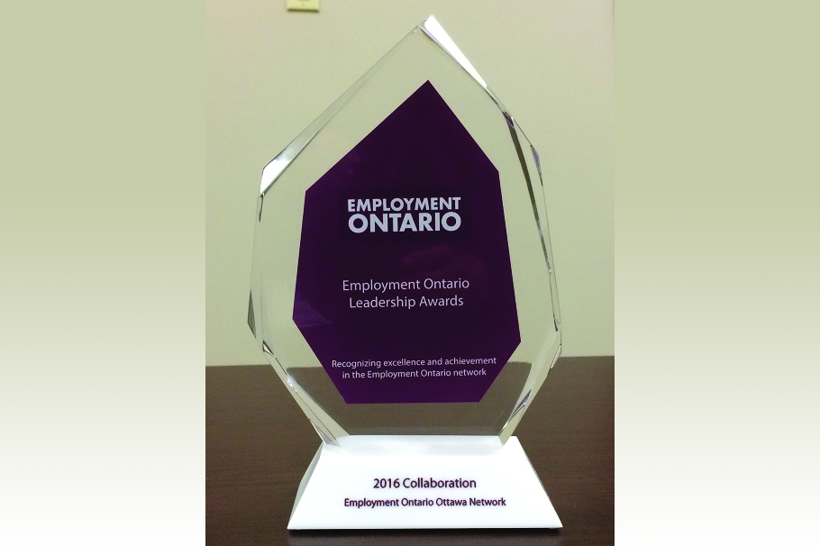 CERC - Image of Employment Ontario Leadership Award