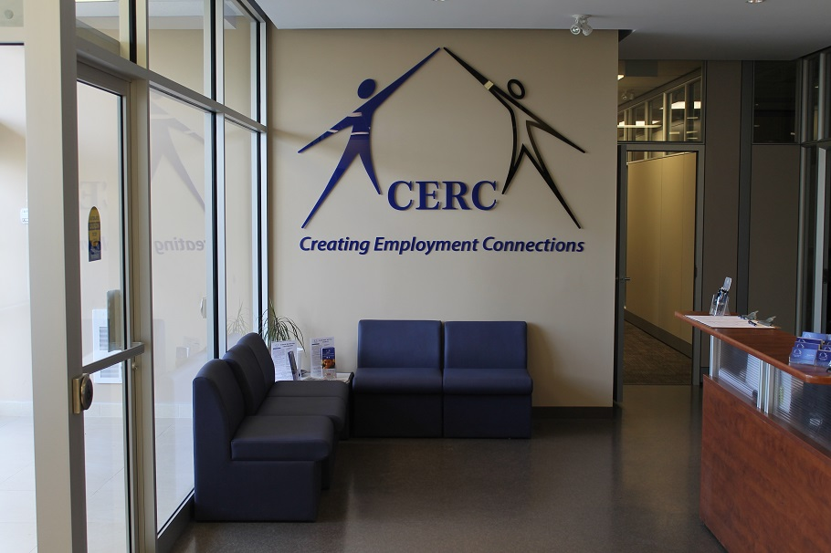 Photo of lobby of CERC Ottawa office